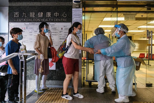 Hong Kong announces free coronavirus testing for all citizens