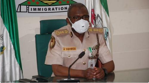 Immigration boss alleges fraudulent contract between Nigerian govt, firm