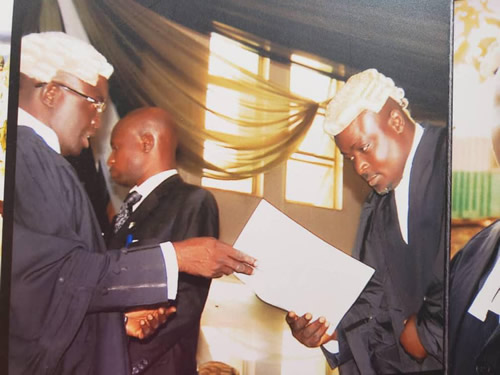 """Lagos lawyer faults Sahara Reporters, says """"I was called to bar with Speaker Obasa"""""""