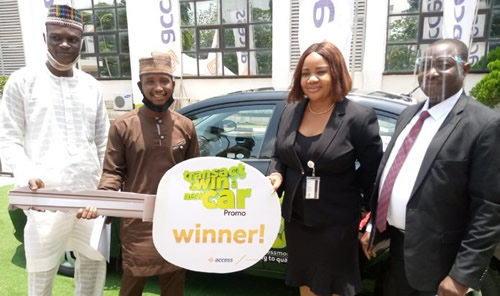 Onion seller wins brand new car in Access bank Transact and Win Campaign