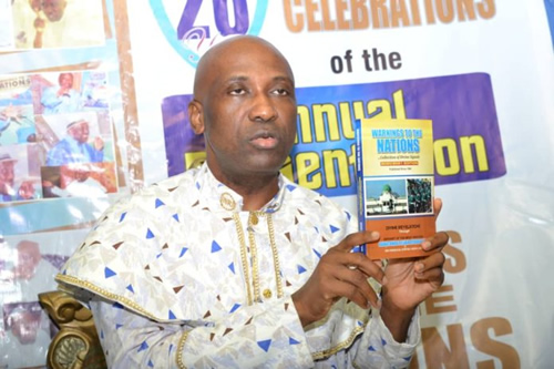 Primate Ayodele releases 2020/2021 edition 'Warning to the Nations'