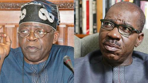 EDO 2020: Tinubu Attacks Obaseki Over Edo Assembly Saga