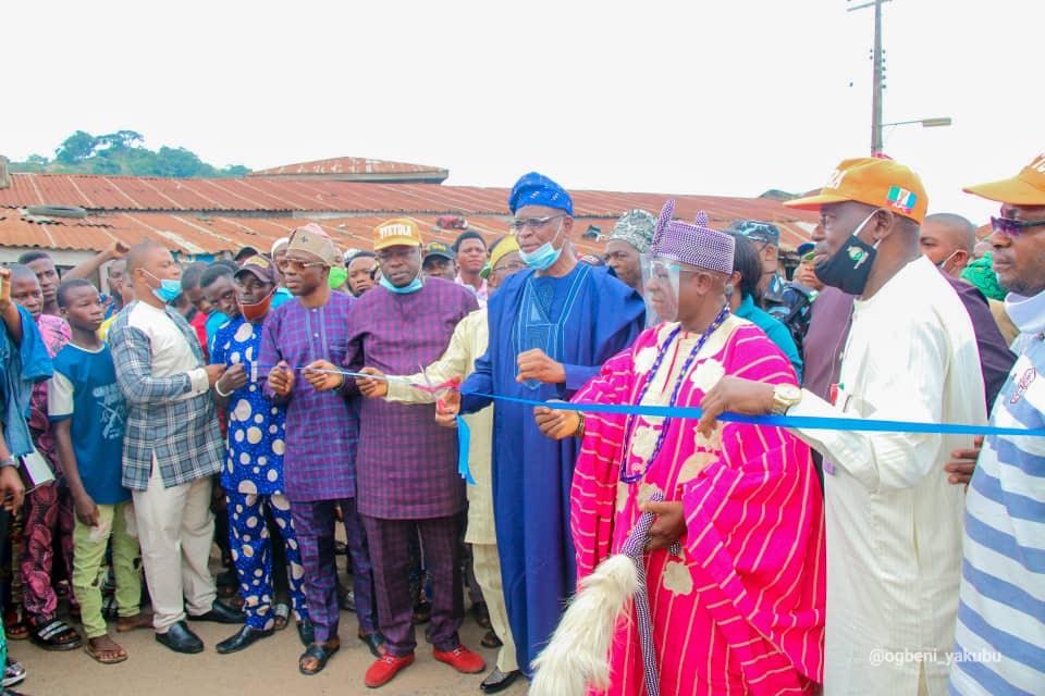 Roads are vehicles of socio-economic developments - Oyetola