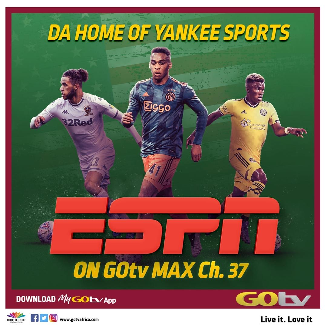Catch The Best American and European Sports Action Live on GOtv Max