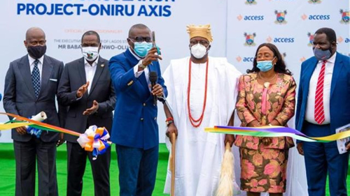 Access Bank commissions Oniru road project in partnership with Lagos State Government