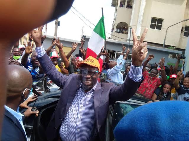 BREAKING: PDP's Godwin Obaseki wins Edo governorship election