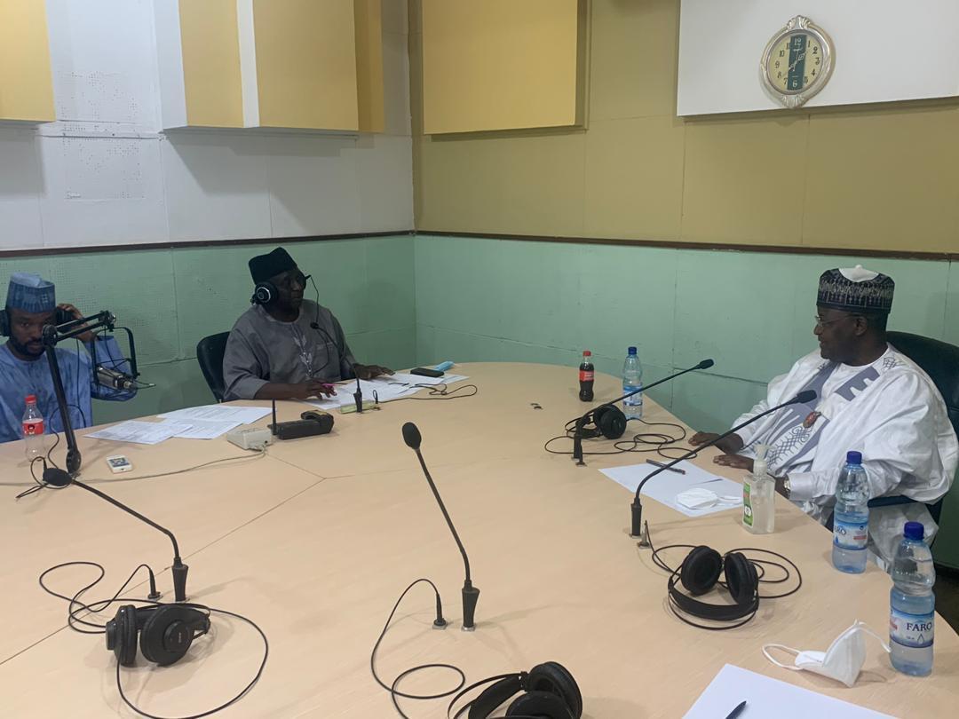 FRCN Kaduna hosts NCC boss