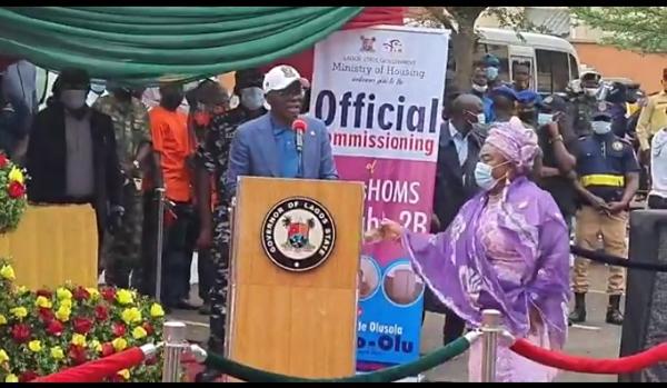 Governor, Sanwo-Olu gifts Nollywood actress Iya Awero a house in Lagos
