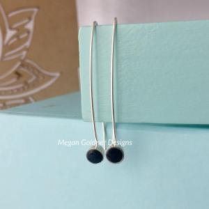 Sterling Silver Memorial Drop Earrings