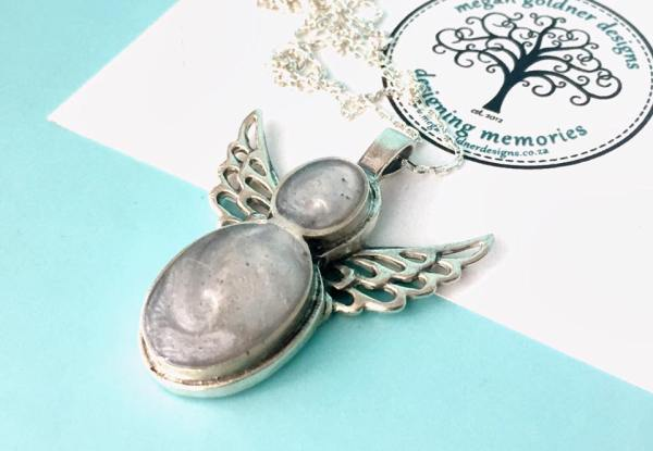 Sterling Silver Keepsake Angel Necklace