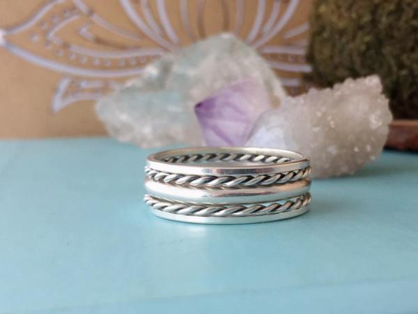 Sterling Silver Original Stack Rings