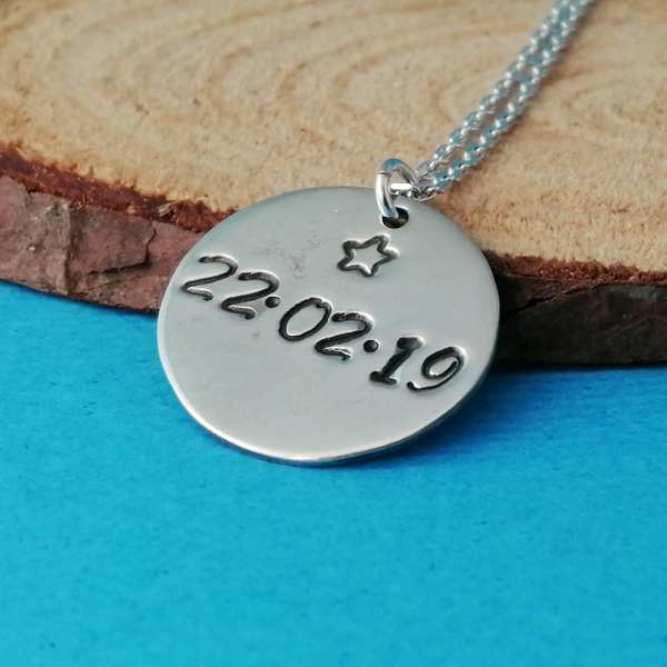 Sterling Silver Coin Charm