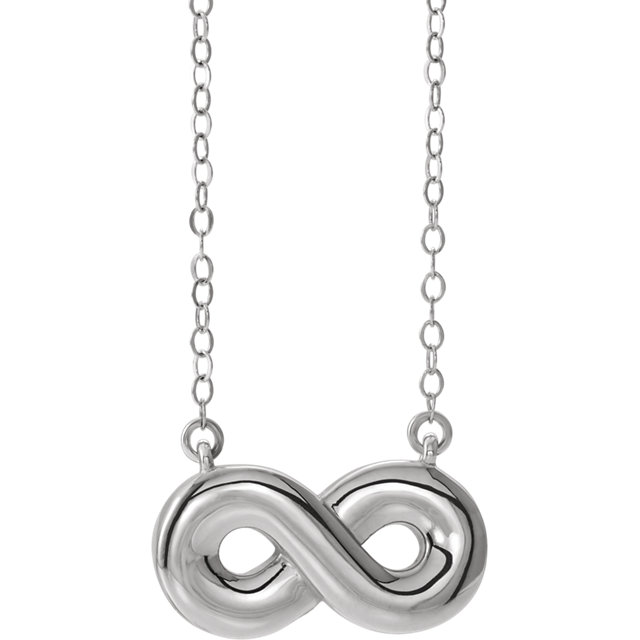Sterling Silver Infinity-Inspired Ash Holder Bar