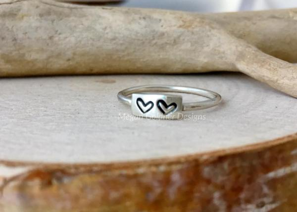 Sterling Silver Message Ring