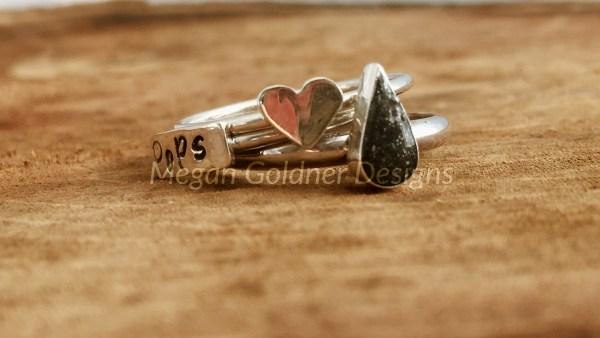 Sterling Silver Keepsake Original Ring Set