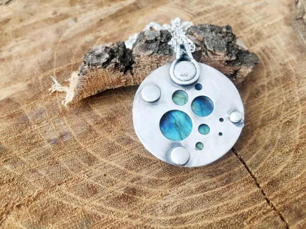 Sterling Silver OOAK Necklace #1