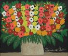 Vase of Flowers, Teuane Tibbo