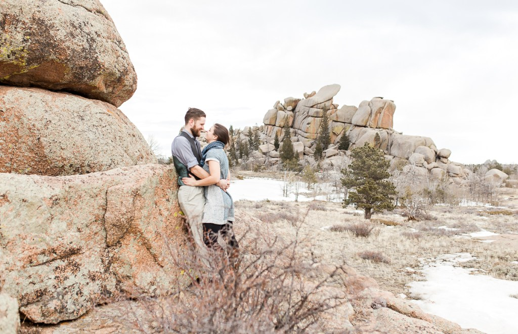 Nautilus Engagement Portrait photography by Wyoming Wedding photographer, Megan Lee Photography