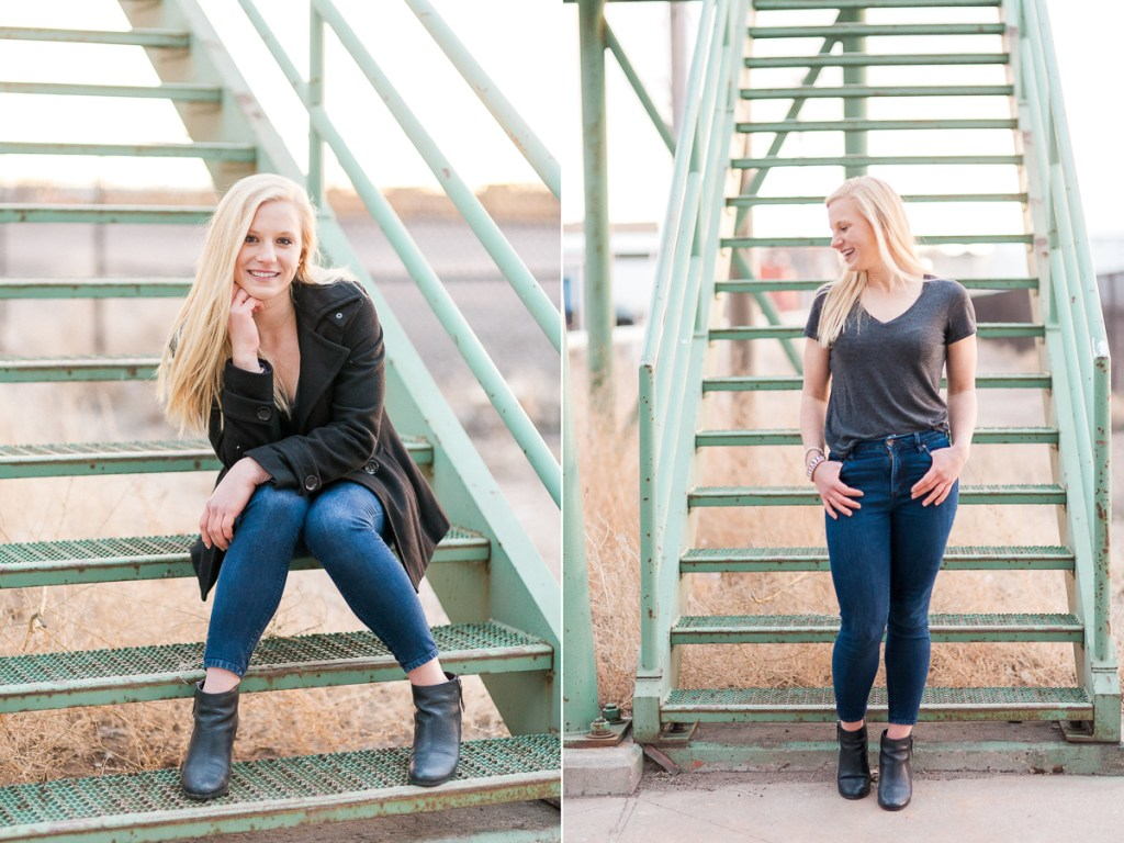 Film look senior portrait photography in laramie Wyoming by Megan Lee Photography.