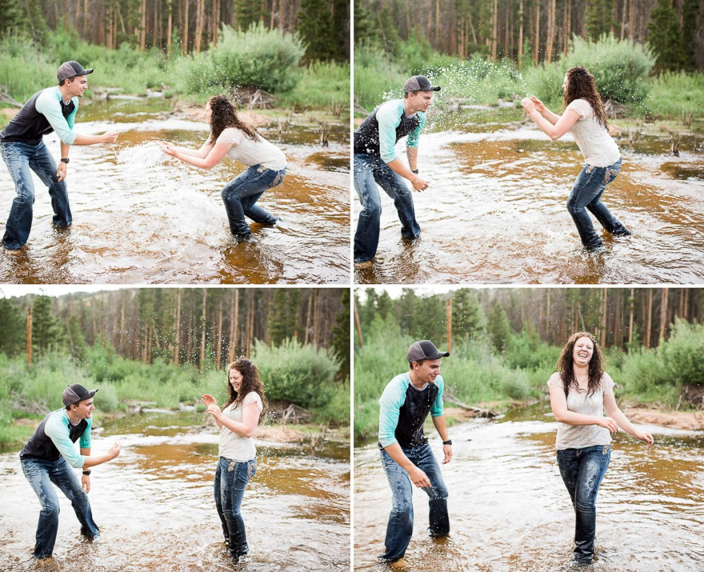 The best thing about their love is their ability to take life as it comes…Dominic and Brittany are silly, fun-loving, and downright adorable…