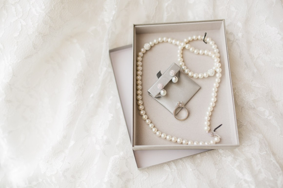 I just loved photographing these details in the beautiful soft window light. The classic and lovely pearl set that Alexis wore was given to her by her father! So sweet!