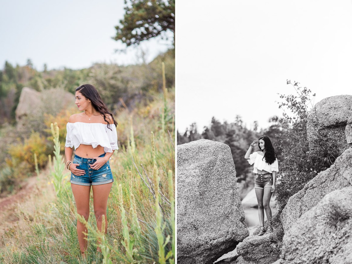 Senior portraits by Megan Lee Photography based in Laramie Wyoming.