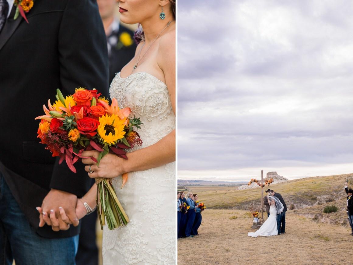La Grange Wyoming ranch wedding near scenic nichols canyon by Megan Lee Photography based in Laramie Wyoming