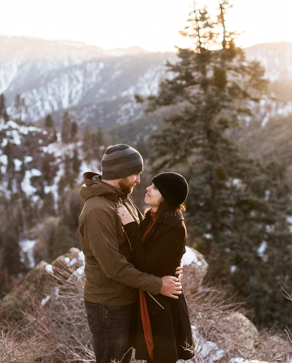 Winter Engagements in California