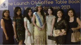 Miss World Book Launch