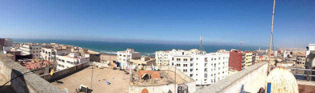 A panorama from my building