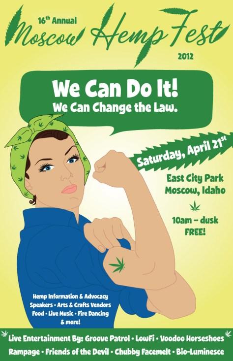 Hemp Fest 2011: We Can Do It!
