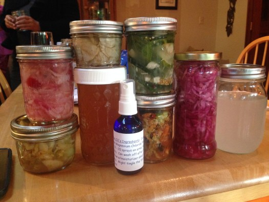 Treasures from my first fermented foods swap