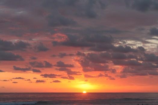 Sunset at Playa Hermosa, Costa Rica 2014