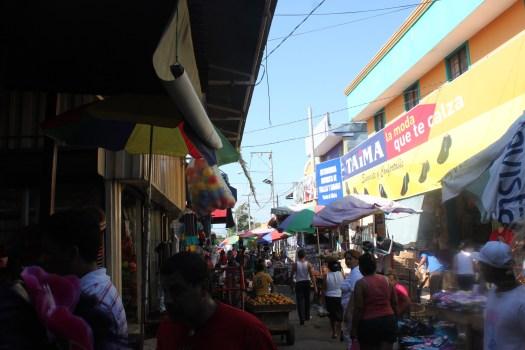 Hectic Managua Markets, Nicaragua 2014
