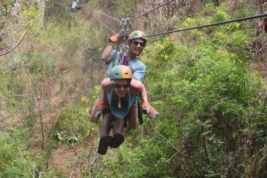 Zip Line Canopy Tour on Ometepe, Nicaragua 2014