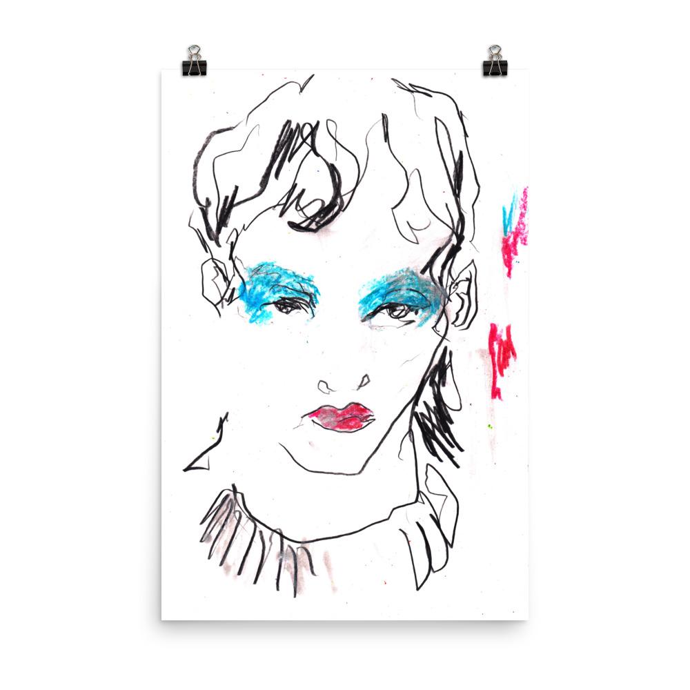 Makeup Ashish – Art print