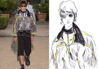 Recent work | Esquire Singapore | Pitti Uomo 96 for SS20 as seen through the eyes of a fashion illustrator