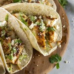 Cod Fish Tacos with Cabbage Slaw