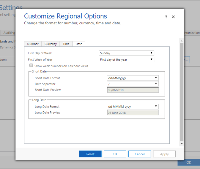 This Looks Great And We Can Decide What Format To Display To Our Users Except Not Really Only The Short Date Is Used In Crm On Forms And Views