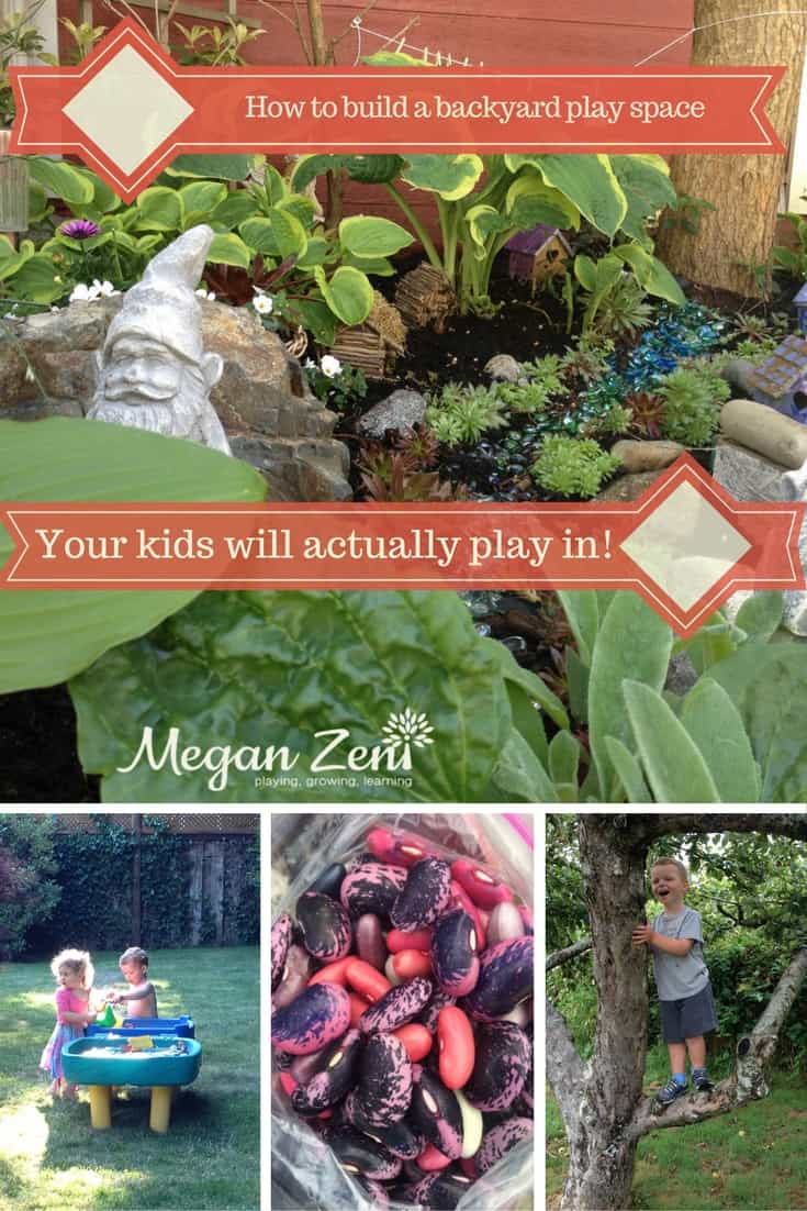Build a backyard play space
