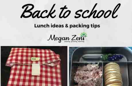 Back-to-school Lunch Ideas & Packing Tips