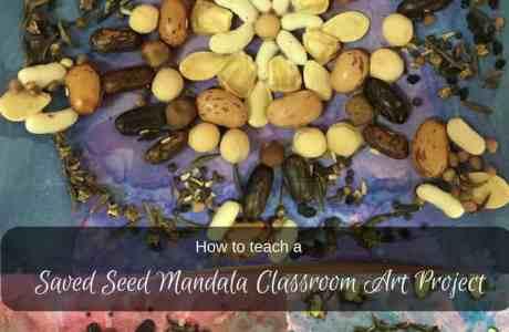 Seed Mandala Art Project