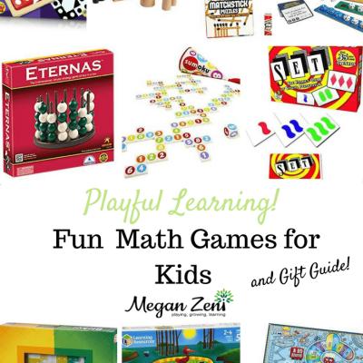 Fun Math Games & Gift Guide