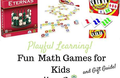 Fun Math Games & Gift Guide
