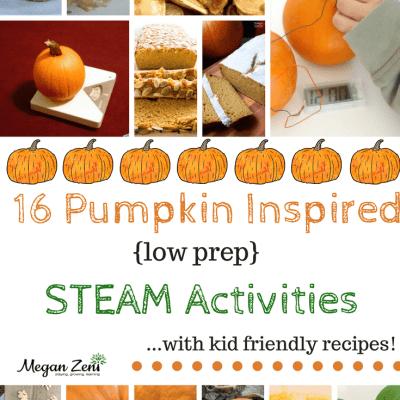 Pumpkin Inspired STEAM Activities