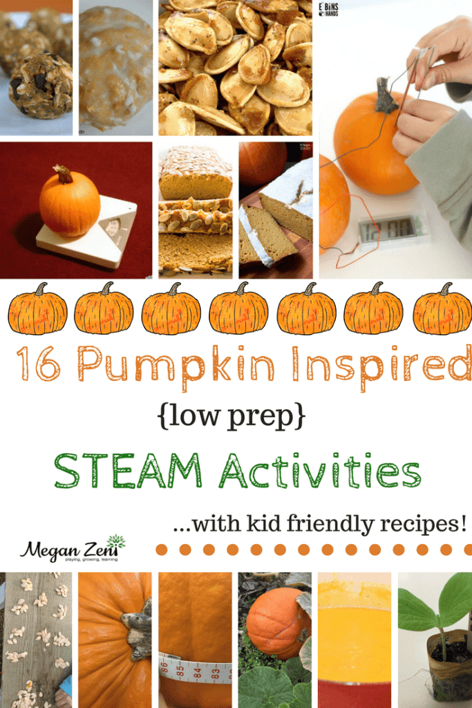 pumpkin inspired STEAM activities