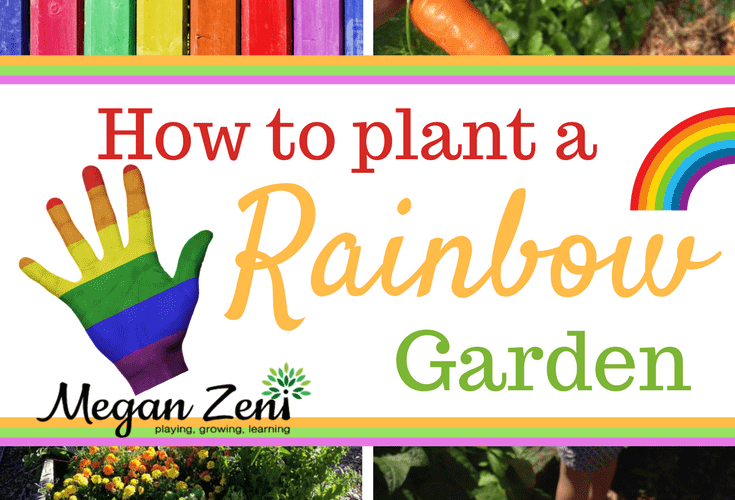How to Plant a Rainbow Garden with Kids