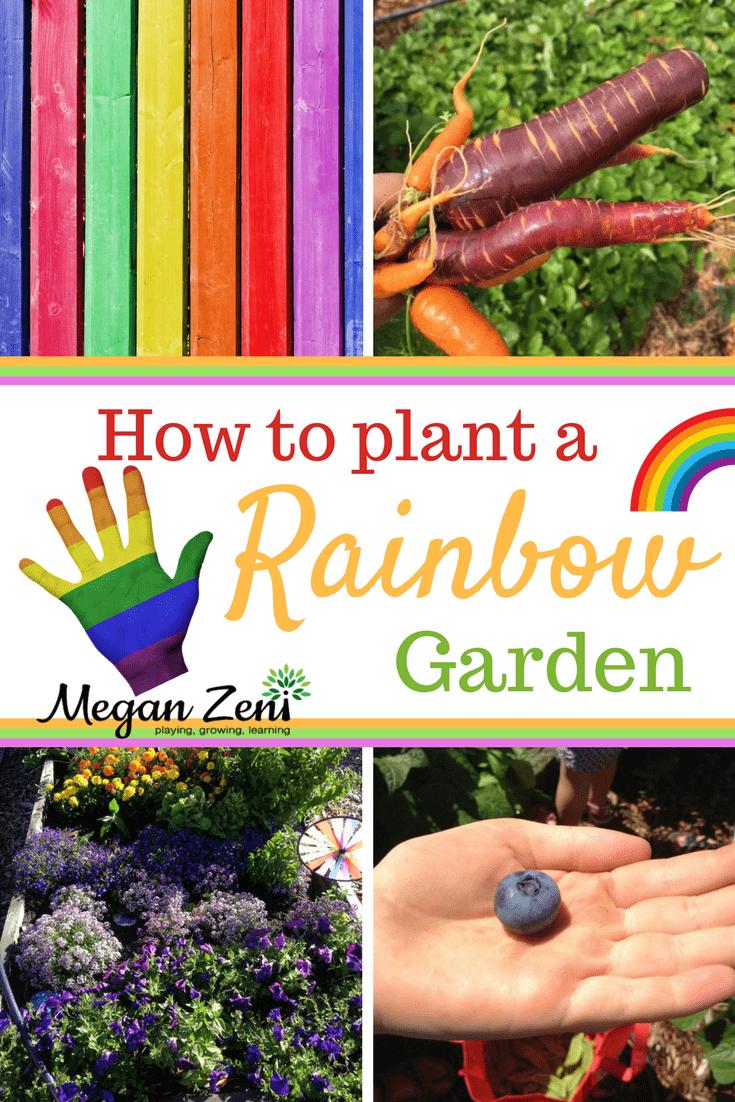 How to Plant a Rainbow Garden