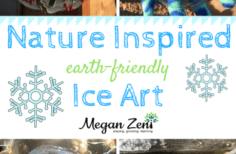 Nature Inspired Ice Art