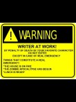 Writer at work #motivation #inspiration #amwriting {Megaphone Society}